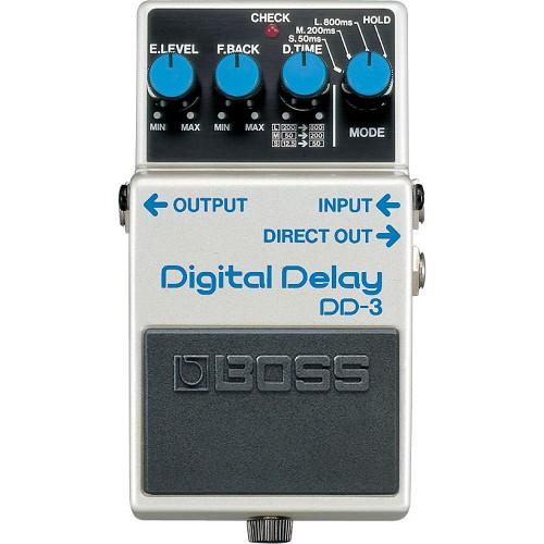 BOSS Guitar Effect Digital Delay [DD-3] - Gitar Stompbox Effect